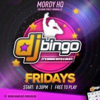 DJ Bingo - Coming Soon