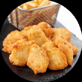 kids menu nuggets