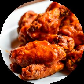 sports menu wings