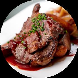 bistro menu steak