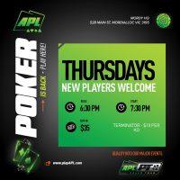 APL Thursdays - Coming Soon
